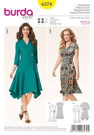 Wrap Around Dress Pattern Interesting Inspiration