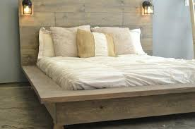 Distressed Wood Bed – bookofmatches