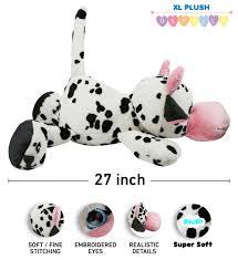 dollibu cow xl stuffed pillow 27