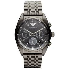 emporio armani mens chronograph watch ar0374