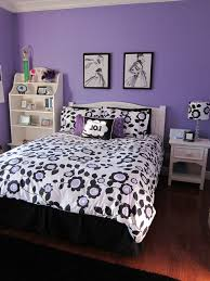 Small Picture Typical College Girls Bedroom Purple And Blue Home Design Ideas