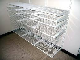 interesting wire closet shelving wire shelving for closets wire rack closet ideas