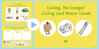 Venn Diagram Living And Nonliving Things Sorting Living Things And Non Living Things Science Teaching