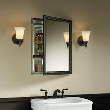 Brushed Nickel Bathroom Cabinet Bathroom Mirror Cabinets Brushed Nickel All About Patio Doors