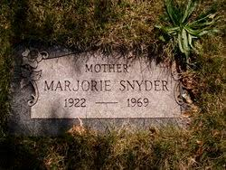 Marjorie Avis Little Snyder (1922-1969) - Find A Grave Memorial