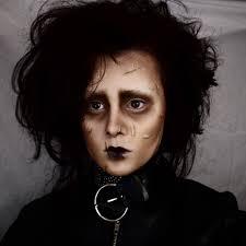 edward scissorhands makeup