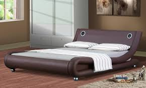 Lovely Manhattan Bed Frame With Bluetooth Speakers