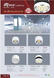 ĐÈN LED ỐP TRẦN ANFACO AFC553 LED 7W / AFC 553 LED 7W, AFC553 LED 12W –  ANFACO LIGHTING. ĐÈN ANFACO. ĐÈN LED ANFACO