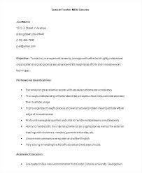 Sample Resume For Mba Application Resume Sample Application Resume
