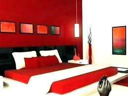 Red White Bedroom Ideas And Idea Wall Color Interesting Blue ...