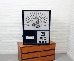 Vintage Eye Chart Light Box Vintage Optometrists Light Box Chauncey Griffith Vintage