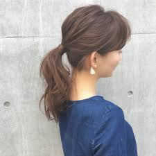 薄毛女性はまとめ髪やくるりんぱポンパドールで隠そう