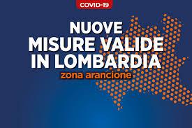 Emergenza Coronavirus. Lombardia zona arancione - Comune di Muggiò