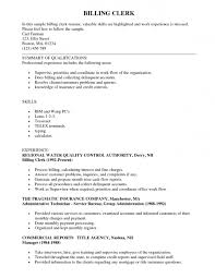 Sample Resume For Clerical Clerical Resume Template Best Cover Letter 18