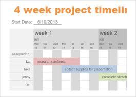 7 Calendar Timeline Templates Doc Excel Free Premium