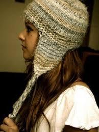 Earflap Hat Knitting Pattern Delectable Short And Sweet Earflap Hat AllFreeKnitting
