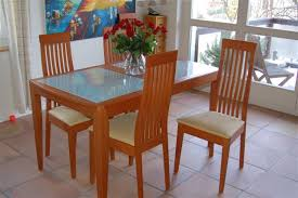 glass and wood dining table. Home And Furniture: Impressive Wood Glass Dining Table Of Modern Dark Legs Seats 6