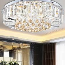 lovable crystal lights for living room flush mount ceiling lights with 6 light for living room