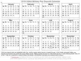 Usaa Pay Chart 2017 Usaa Pay Calendar 2019 Va Disability Compensation Tables