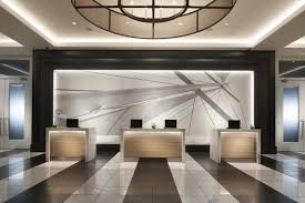 rtkl associates inc are shortlisted for the lobbypublic areas design team reconfigured lobby space forming a best office reception areas