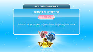 The Sims Freeplay- Halloween Quest 2017: Ghost Flustered – The Girl ...