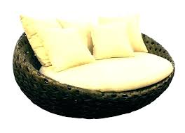 round outdoor chaise lounge cushions cushions design contemporary