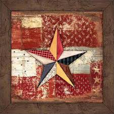 get quotations rustic americana patchwork star wood grain primitive patterned panels painting red brown canvas art by on americana canvas wall art with cheap wood grain wall panels find wood grain wall panels deals on