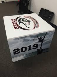 Cheer Box Designs Mint Print Media Cheer Box Wraps