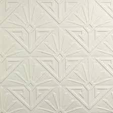 art deco style heavyweight blown vinyl paintable wallpaper rd576 5060075554605