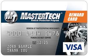 the mastertech rewards visa prepaid card