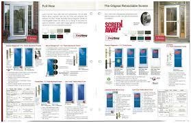 larson retractable screen door. Fabulous Larson Screen Doors Applied To Your Residence Idea: Storm Door With Retractable