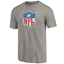 Line Ash Nfl T-shirt Tri-blend Men's Pro Fanatics Branded By Logo Throwback