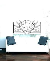 headboard wall decal headboard wall decal seashell wall decals with vinyl headboard wall decal vinyl headboard