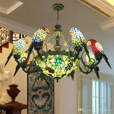 stained glass hanging light fixtures ceiling lamp vintage