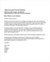 reference letter from employer sample job reference letter kays makehauk co