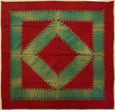 Lancaster County Amish Diamond Quilt with beautiful quilting ... & Lancaster County Amish Diamond Quilt with beautiful quilting design. Circa  1920 Adamdwight.com