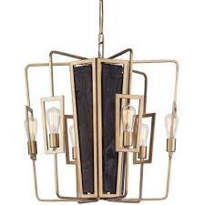 madeira 6 light rustic gold chandelier