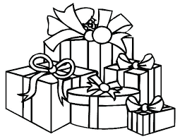 Gift Tag Coloring Page Gift Coloring Pages Free Gifts Presents Page Printable