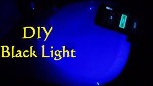 Black Light From Phone Diy Make A Black Light With Your Phone Handy Smartphone Uv Light Mobilephone