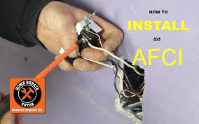 how to install an afci outlet home repair tutor how to install an afci outlet