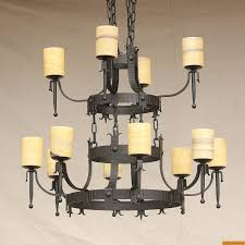 1625 12 spanish style wrought iron chandelier