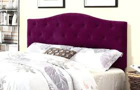 Tufted upholstered sleigh bed King Upholstered Purple Sleigh Bed Single Bedroom Medium Size Headboard Purple Single Bedroom Fabric Tufted Upholstered Furniture Sleigh Wayfair Purple Sleigh Bed Single Bedroom Medium Size Headboard Purple Single