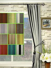 Petrel Vertical Stripe Single Pinch Pleat Chenille Curtains