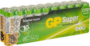 Отзывы о <b>Батарейки GP Super</b> LR6 АA 1 5.В 20шт - рейтинг ...