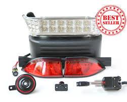 club car precedent golf cart light kit complete street legal Precedent Golf Cart Wiring Diagram club car light kit led lights wiring diagram for 2013 precedent golf cart