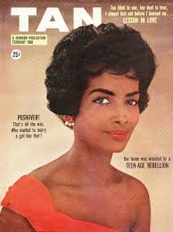 tan magazine cover 1950s vine african american makeup