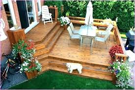 charming patio deck plans backyard decks pictures designs great wood outdoor free standing elevated deck plans backyard
