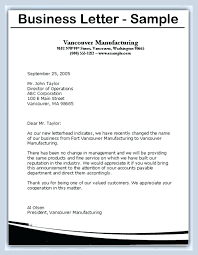 3 Types Of Business Letters Examples Sample Format For Writing A ...