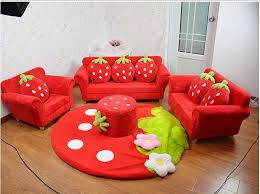 Couches for kids Bean Bag 2019 Coral Velvet Children Sofa Chairs Cushion Furniture Set Cute Strawberry Style Couch For Kids Room Decor Christmas Birthday Gift From Jackylucy Dhgate 2019 Coral Velvet Children Sofa Chairs Cushion Furniture Set Cute