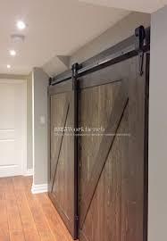 fabulous double barn door closet single track bypassing hardware arrowhead doors in sliding